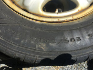 4 Goodyear all seasons on Honda CR-V rims