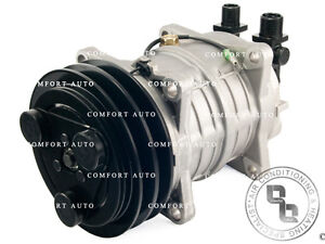 New A/C Compressor With Clutch Air Conditioning Pump Replaces: Seltec Valeo TM15