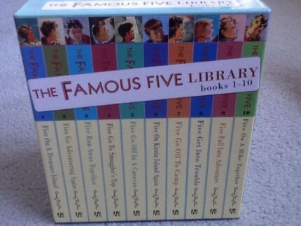 The Famous Five Classic Edition Books 1 10