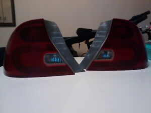 2001-2003 Honda Civic Coupe Tail Lights