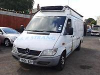 MERCEDES SPRINTER 311 CDI + LWB + HIGH ROOF + FRIDGE VAN