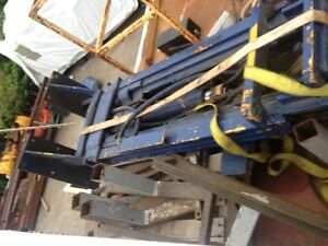 Lift mat de Fork lift monte  charge ou lift Equipement 12'