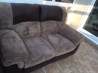DFS RECLINER 2 SEATER SOFA (Very Little Use)