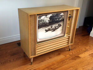 Old 1950/60's TV cabinet