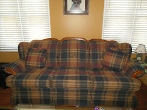 Couch, Love Seat & matching Chair