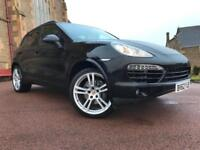 *12 MTHS WARRANTY*2012(62)PORSCHE CAYENNE 3.0 TD TIPTRONIC S AWD WITH 66K FSH*