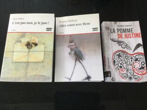 Ensemble de 3 romans-jeunesse québécois