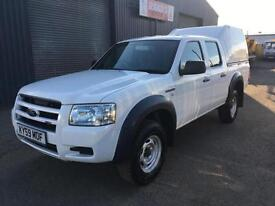 * SOLD * 2009 (59) Ford Ranger 2.5 TDCi Double Cab 4x4 Diesel Pickup