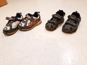 Boys shoes and sandals - size 7