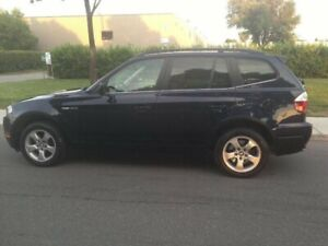 2007 BMW X3 3.0 si FULLY LOADED! LOW MILEAGE! WOW !!!!!!!!!!!