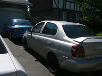 Toyota Echo 2000 autom. Aubaine