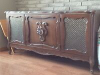 Antique Stereo Cabinet
