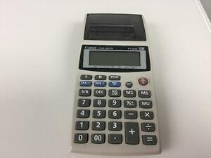 Canon print/calculator Kitchener / Waterloo Kitchener Area image 1