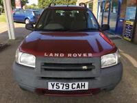 2001 Land Rover Freelander 2.0 auto Td4 GS - 1 Former Keeper - 2Keys- MOT:DEC18