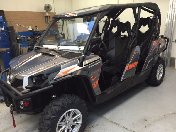 Used 2014 BRP 2014 BRP 1000 CC 4 Seat Side X Side Winch Canvas r