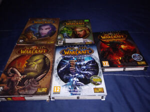 World Of Warcraft Collection avec Expensions (Comme Neufs)