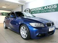 BMW 3 SERIES 2.0 318d M SPORT [LEATHER, ?30 ROAD TAX and SERVICE HISTORY]