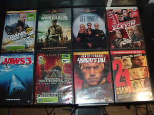 OVER 100 DVD FOR SALE, SOME TV SERIES OTHERS ARE MOVIES AT .75 West Island Greater Montréal image 1