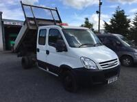 Iveco Daily TIPPER 2.3 td 35C12 Double cab twin axle LWB 2006 56 Reg