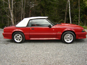 1988 Ford Mustang gt  Cabriolet