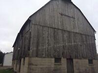 Old barns wanted