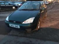 Ford Focus 1.6i 16v LX 4 DOOR - 2002 02-REG - 6 MONTHS MOT