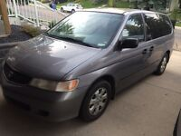 2000 Honda Odyssey for Parts - 2 days only!