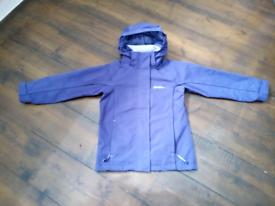 Mountain Warehouse Rain Coat / Jacket age 5 to 6 with a Hood.