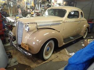 Car parts, Tools, Some Camping, 1937 Dodge Collectibles