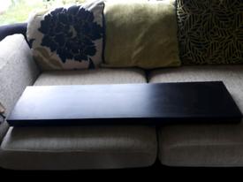 3 Ikea Lack floating shelf