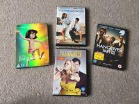 DVDs £3 each