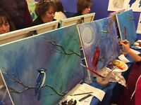 Paint Night - Ain't Just Paint