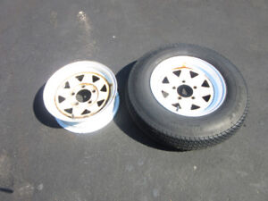 "Two 13"" Trailer Rims - SOLD PPU Thursday Sep.20,2018"