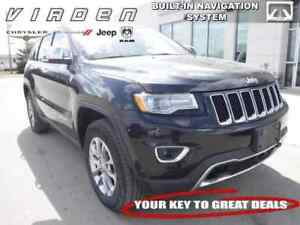 2016 Jeep Grand Cherokee Limited **LOCALLY OWNED!! TOUCHSCREEN!!