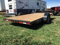 14 Foot trailer with ramps