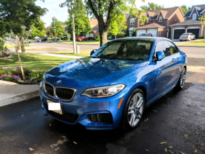 2016 BMW 228i , MANUAL, M-Sport, Navigation, Low kms, 10/10