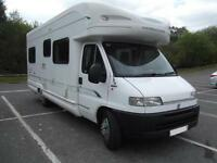 BESSACARR E765, 4 BERTH, FIXED BED, LARGE LOUNGE, LOW MILEAGE