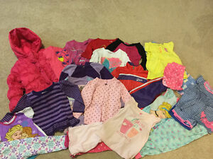 4T lot including pink puffer coat