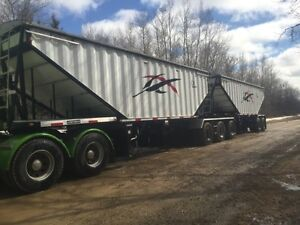 2010 load King super b grain trailer fresh safety