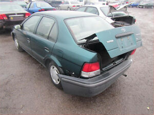1995/1999/ TOYOTA TERCEL (FOR PARTS ONLY)