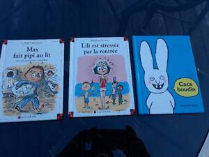 Livres pour enfants : Max, Lili et Caca boudin