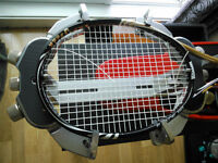 Racket stringing and customization services