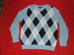Tommy Hilfiger V-Neck Sweater (Light Blue) - $40.00 Belleville Belleville Area image 1