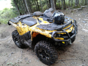 2014 Can Am Outlander 650 XT