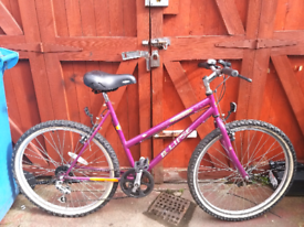 Ladies mountain bike, can deliver