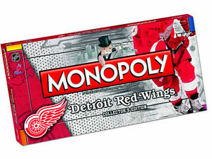 Detroit Red Wings Monopoly game at JJ Sports