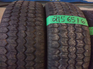 Pairs of R16 winter tires