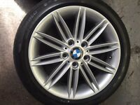 BMW alloys 17inch - e82