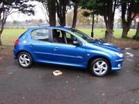 Peugeot 206 1.6 Sport Cars**63,000 MILES**1 PREV OWNER**PSH**5 DOOR**