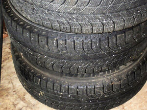 4 michelin ice 205/65r/16 West Island Greater Montréal image 4
